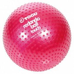 Piłka Redondo z wypustkami sensorycznymi 26cm, rubinowa