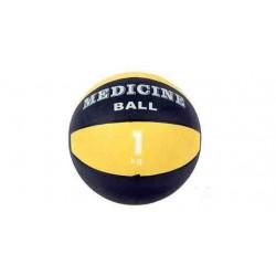Piłka lekarska 20 cm standardowa MSD żółta - 1 kg