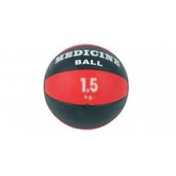Piłka lekarska 20 cm standardowa MSD czerwona - 1,5 kg
