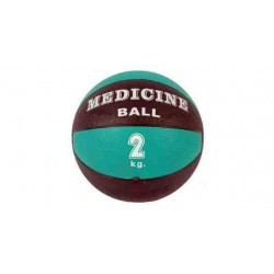 Piłka lekarska 20 cm standardowa MSD zielona - 2 kg