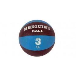 Piłka lekarska 20 cm standardowa MSD niebieska - 3 kg