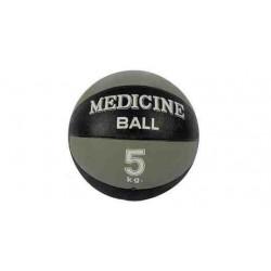 Piłka lekarska 20 cm standardowa MSD szara - 5 kg