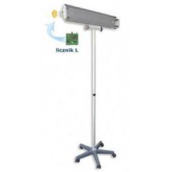 Lampa bakteriobójcza bezpośredniego działania NBV 2x30 PL z licznikiem czasu pracy z wyświetlaczem 4-polowym