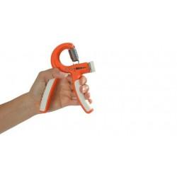 Ściskacz do treningu dłoni z regulacją MSD – pomarańczowy 5-20 kg