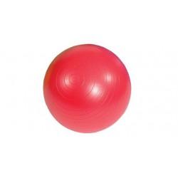 Piłka gimnastyczna AB MSD czerwona 55 cm (z pompką)