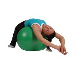 Piłka gimnastyczna AB MSD zielona 65 cm (z pompką)