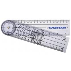 Goniometr plastikowy MSD 20 cm co 2º