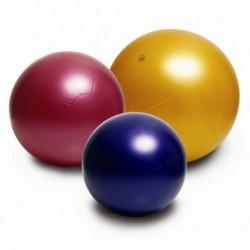 Duża piłka gimnastyczna Puschball ABS Togu 100 cm – rubinowa