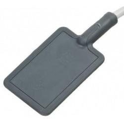 Aplikator płaski gumowy 12x18 cm z kablem do diatermii krótkofalowej BTL-6000 SHORTWAVE 400