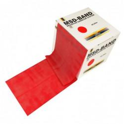 Taśma rehabilitacyjna MSD 22,5 m - czerwona ( średni opór)