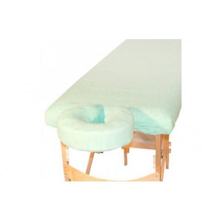 Komplet frotte – pokrycie na stół i podgłówek