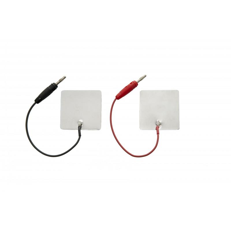 Elektroda aluminiowa 60 x 120 mm, przyłącze 2 mm
