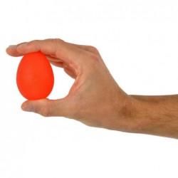 Trener dłoni jajko silikonowe MSD- czerwony (opór miękki)