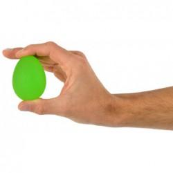 Trener dłoni jajko silikonowe MSD- zielony (opór średni)