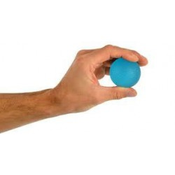 Trener dłoni piłeczka do ściskania MSD- niebieska 50 mm (mocna)