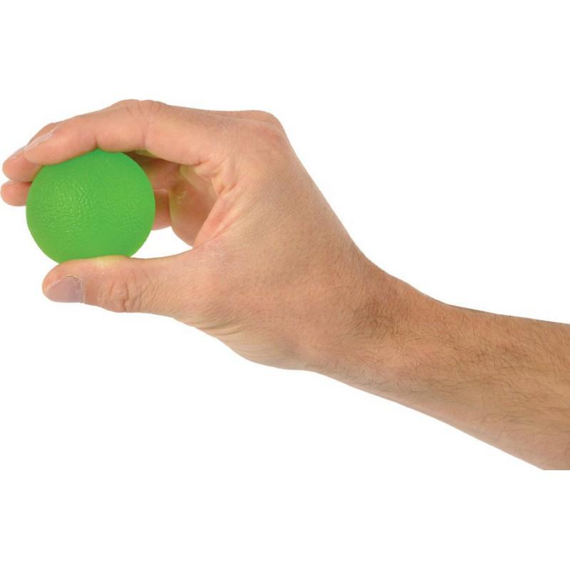 Trener dłoni piłeczka do ściskania MSD- zielona 50 mm (średnia)
