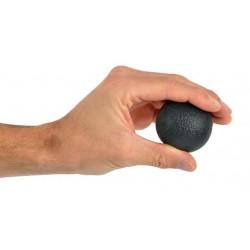 Trener dłoni piłeczka do ściskania MSD- czarna 50 mm (bardzo mocna)