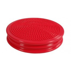 Poduszka sensomotoryczna standard do siedzenia MSD- czerwona 32 cm (z pompką)