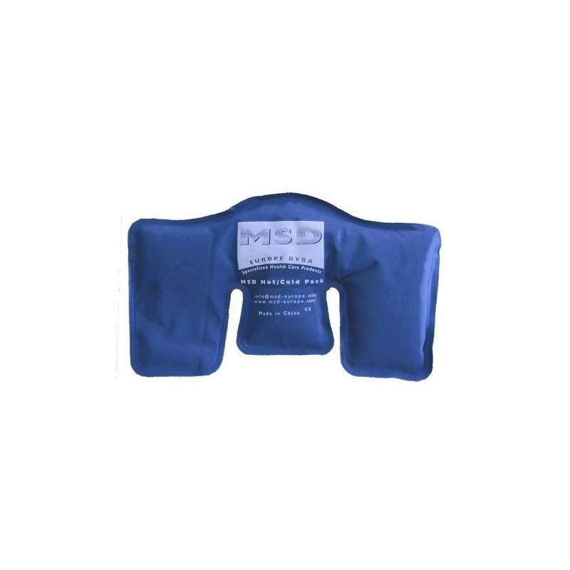 Kompres żelowy MSD ciepło/ zimno powłoka syntetyczna- 40 x 20 cm