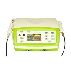 Zestaw  aparat Solatronic  SL-3 + głowica ultradźwiękowa 5 cm + sonda IR 400 mW + 2szt. okularów +torba transportowa