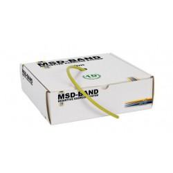 Tubing do ćwiczeń rehabilitacyjnych MSD 30 m - żółty (słaby opór)
