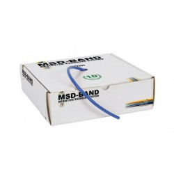 Tubing do ćwiczeń rehabilitacyjnych MSD 7.5 m - niebieski (bardzo mocny opór)