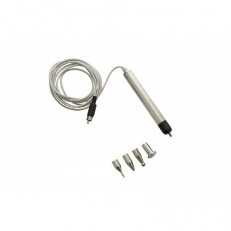 Elektroda punktowa z 4 wymiennymi końcówkami