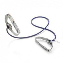 Tubing Thera Band 1,4 metra z elastycznymi uchwytami – niebieski (opór extra mocny)