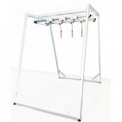 Zestaw Redcord Workstation Professional Floor Stand z konstrukcją podłogową i z konstrukcją sufitową z 3 trawersami