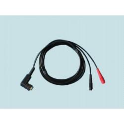 Kabel K-2 (U) czarny do aparatów do elektroterapii firmy EIE
