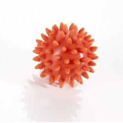 Trener dłoni piłeczka Jeż do ściskania Thera Band pomarańczowa - 6 cm