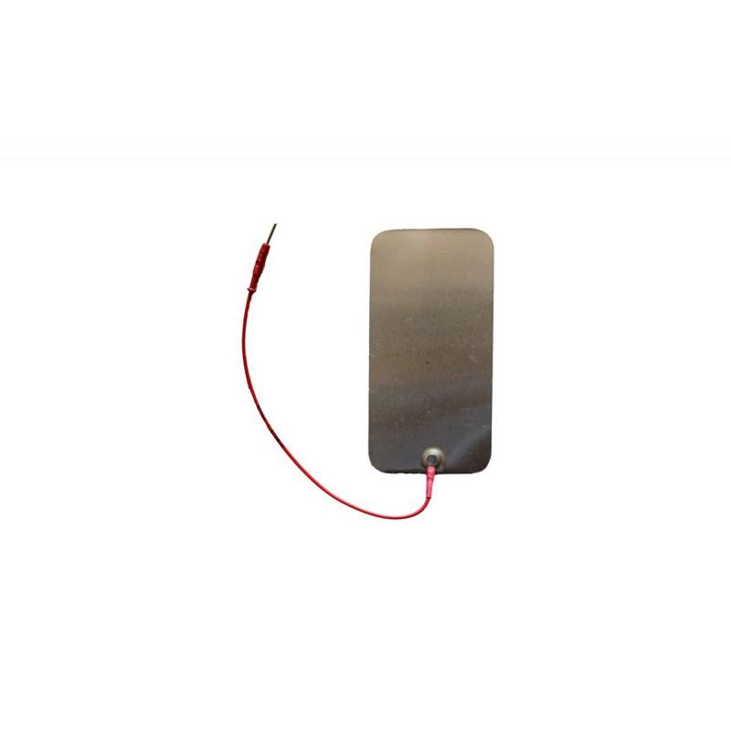 Elektroda cynowa 60 x 120 mm, przyłącze 2 mm lub 4 mm