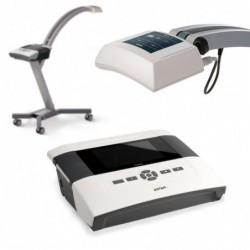 Aparat do laseroterapii PhysioGo 400 C + aplikator skanujący R+IR (660nm/100mW + 808nm/450mW) ze statywem