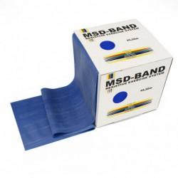 Taśma rehabilitacyjna MSD 22,5 m - niebieska (bardzo mocny opór)