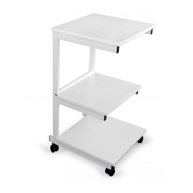 Stolik pod aparaturę aluminiowy III półki