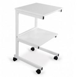Stolik pod aparaturę aluminiowy II półki