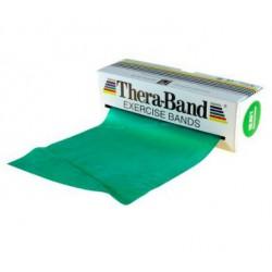 Taśma Thera-Band 2,5m opór mocny, zielona