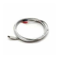 Przewody do elektrod do BTL-4625 Smart/Premium jasnoszare (para)
