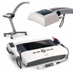 PhysioGo 400 C +aplikator skanujący R+IR (660nm/100mW + 808nm/450mW) + sonda IR 808nm/400mW + R 660nm/80mW + aplikator CL1800