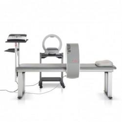 Aparat do magnetotrapii PhysioMG 825 + aplikator szpulowy  CS60 + CS35 z stolikiem + leżanka z półką na aparat