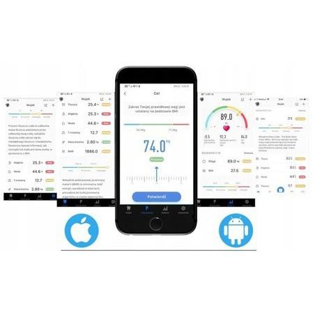 Waga analityczna HW-FIT002 z Bluetooth