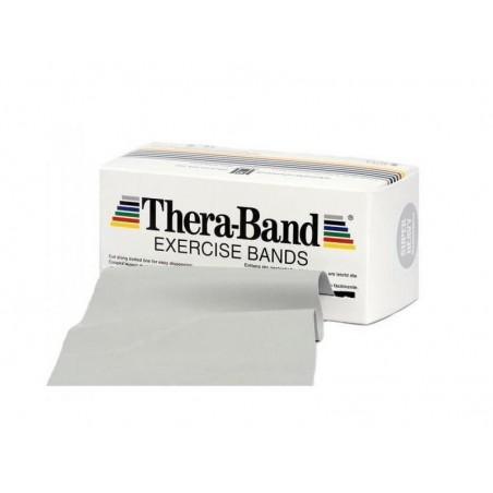Taśma Thera-Band 1,5m opór super mocny, srebrna