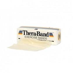 Taśma Thera-Band 2,5m opór bardzo słaby, beżowa
