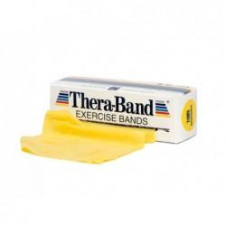 Taśma Thera-Band 2,5m opór słaby, żółta
