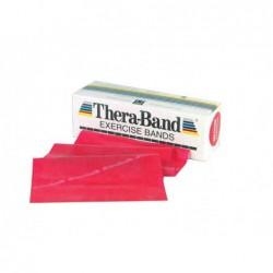 Taśma Thera-Band 2,5m opór średni, czerwona