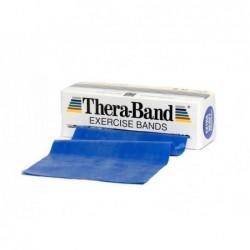 Taśma Thera-Band 2,5m opór extra mocny, niebieska