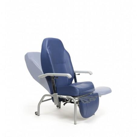 NORMANDIE 2F fotel geriatryczny z niezależną regulacją kąta oparcia i łydek