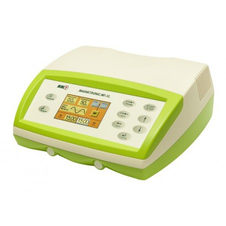 Zestaw do magnetoterapii Magnetronic MF-12 + aplikator AS-600 K + aplikator AS 315 K + leżanka L-6