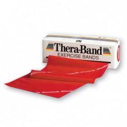 Taśma Thera-Band 1,5m opór średni, czerwona