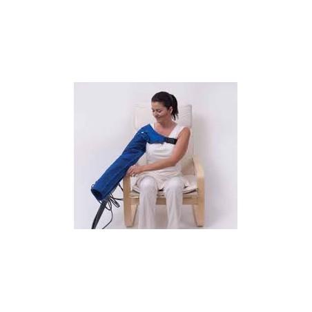 Urządzenie do masażu ciśnieniowego Lympha Press Mini + 1 mankiet na kończynę górną + 24- komorowe spodnie